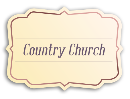 Country Church_tag