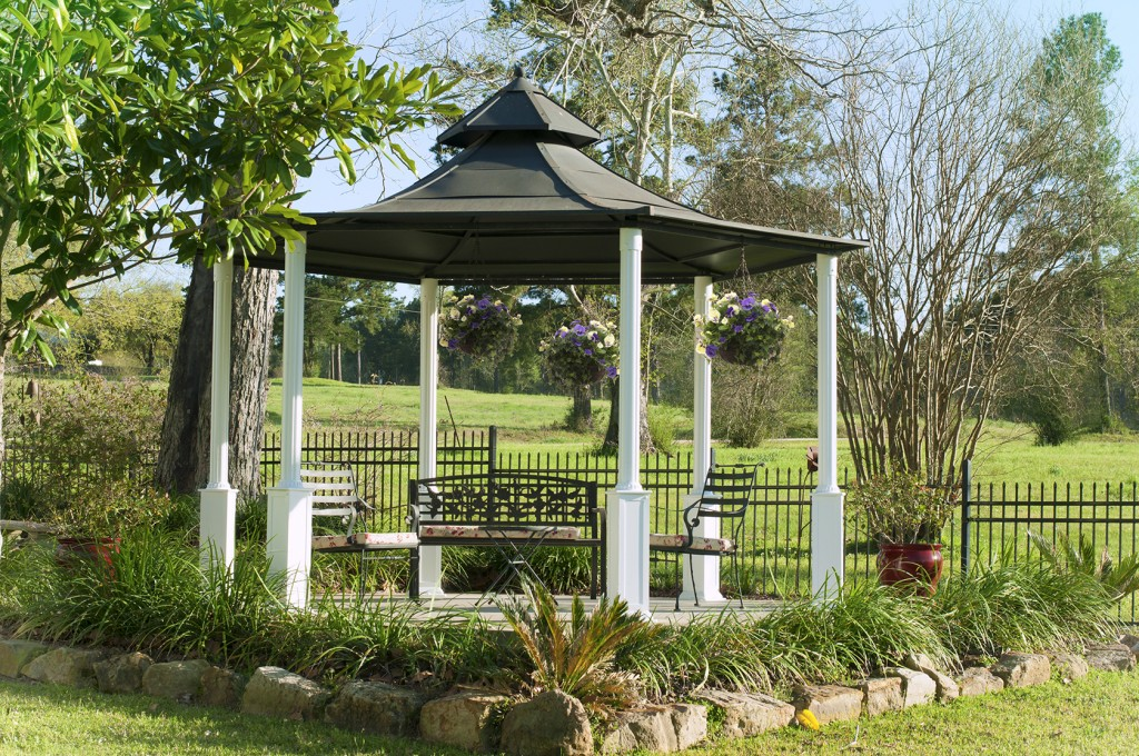the wedding gazebo is the perfect wedding venue for small and personal weddings the gazebo is great to decorate for a couple on a budget while still being